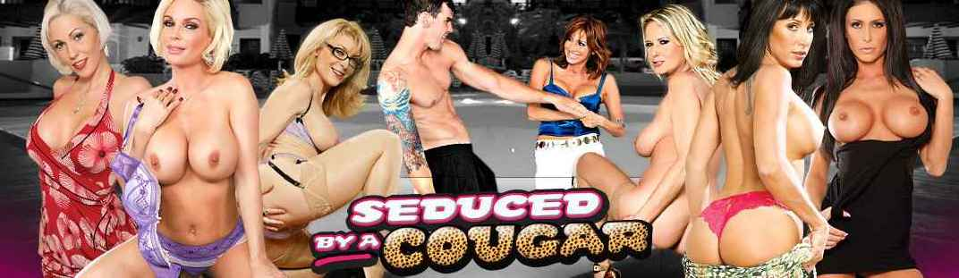 Seduced By A Cougar - Vanessa Videl!